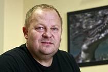 Potápěč Tomáš Melichárek.