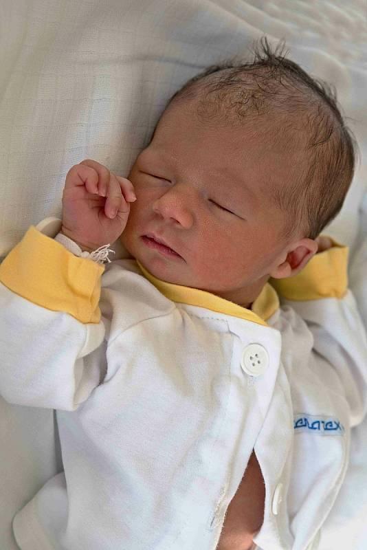 Sebastian Cieślok, Karviná, narozen 6. září 2021 v Karviné, míra 48 cm, váha 2530 g. Foto: Marek Běhan