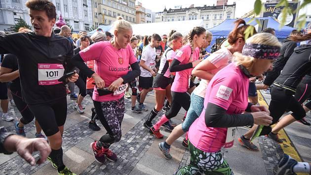 Běžecký závod RunFest Ostrava, 23. září 2018 v Ostravě.