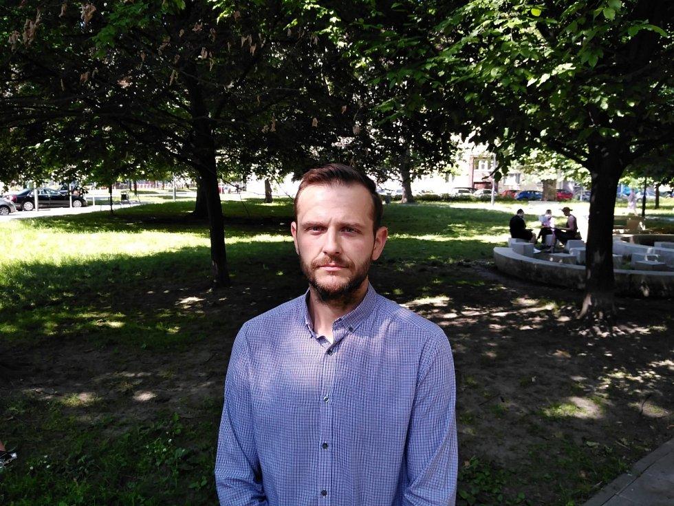 Šéf moravskoslezského Toxi týmu Jakub Mohyla.