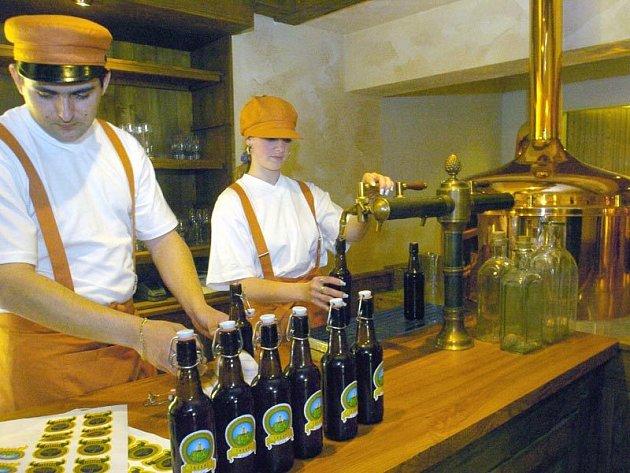 Ve Štramberku čepují místní pivo Štramberský trubač