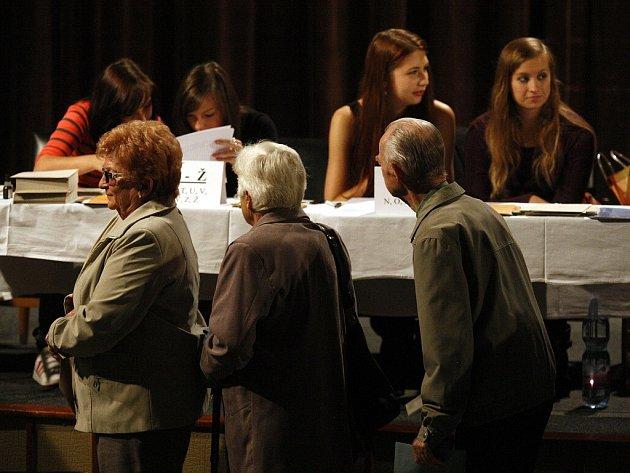 Volby 2013 v Ostravě.