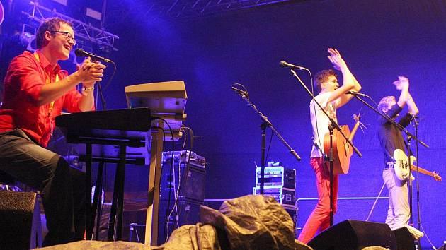 Charlie Straight na festivalu Colours of Ostrava.