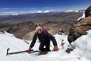Sajama, výstup na nejvyšší bolivijskou horu.