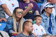 Utkání 4. kola nadstavby první fotbalové ligy, skupina o titul: FC Baník Ostrava - SK Slavia Praha, 19. května 2019 v Ostravě. Na snímku fanoušci.