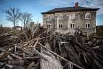 Revitalizace vyloučené lokality Zárubek, listopad 2020 v Ostravě.