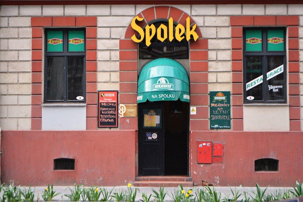 Restaurace Spolek v centru města. Archivní snímek.