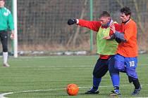 Stará Bělá v utkání s Kunčičkami. Bez porážky stále vede skupinu A. Vřesina Cupu