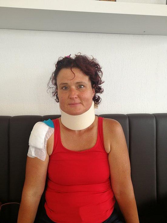 Hana Müllerová si koloběžku pořídila z vlastní iniciativy i kvůli práci, po její poslední jízdě však bude každou vyjížďku doprovázet i strach.