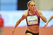 Mezinárodní halový atletický mítink EEA Czech Indoor Gala 25. ledna 2018 v Ostravě. Seidlová.