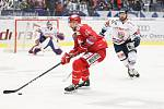 Utkání 34. kola hokejové extraligy: HC Vítkovice Ridera - HC Oceláři Třinec, 12. ledna 2019 v Ostravě. Na snímku (zleva) Tomáš Marcinko, Petr Šidlík.