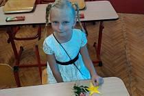 Evelínka Rampáčková, 6 let, Ostrava-Přívoz, ZŠ Ostrava