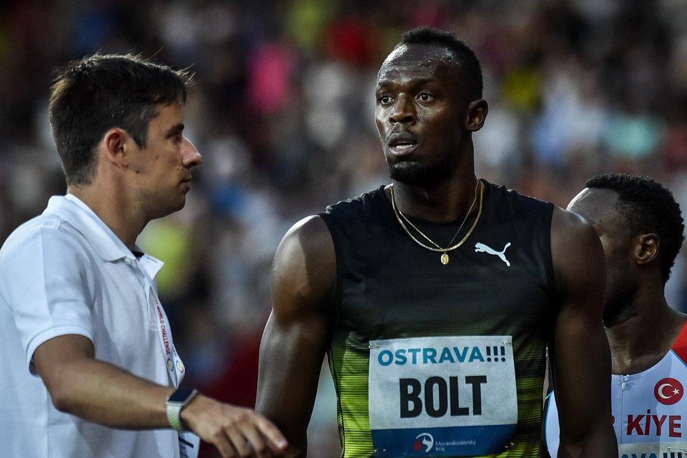56. ročník atletického mítinku Zlatá tretra, který se konal 28. června 2017 v Ostravě. Usain Bolt.
