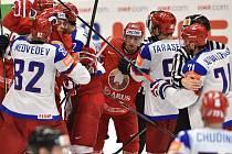 Rusko v Ostravě smetlo Bělorusko 7:0.