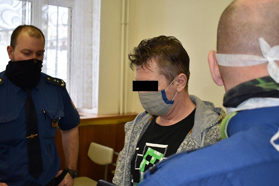 Obžalovaný muž byl odsouzen k osmi a půl roku ve věznici s ostrahou. Ostrava, 13. května 2021.