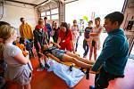 Den otevřených dveří Zdravotnické záchranné služby Moravskoslezského kraje, 27.května 2019 v Ostravě.