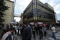 Pivní slavnosti pivovaru Ostravar na ulici Hornopolní.