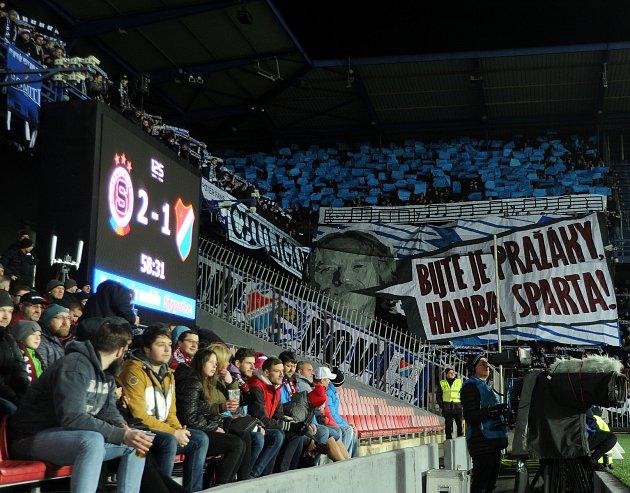 Utkání 22.kola první fotbalové ligy: Sparta Praha - Baník Ostrava, 24.února 2019vPraze.