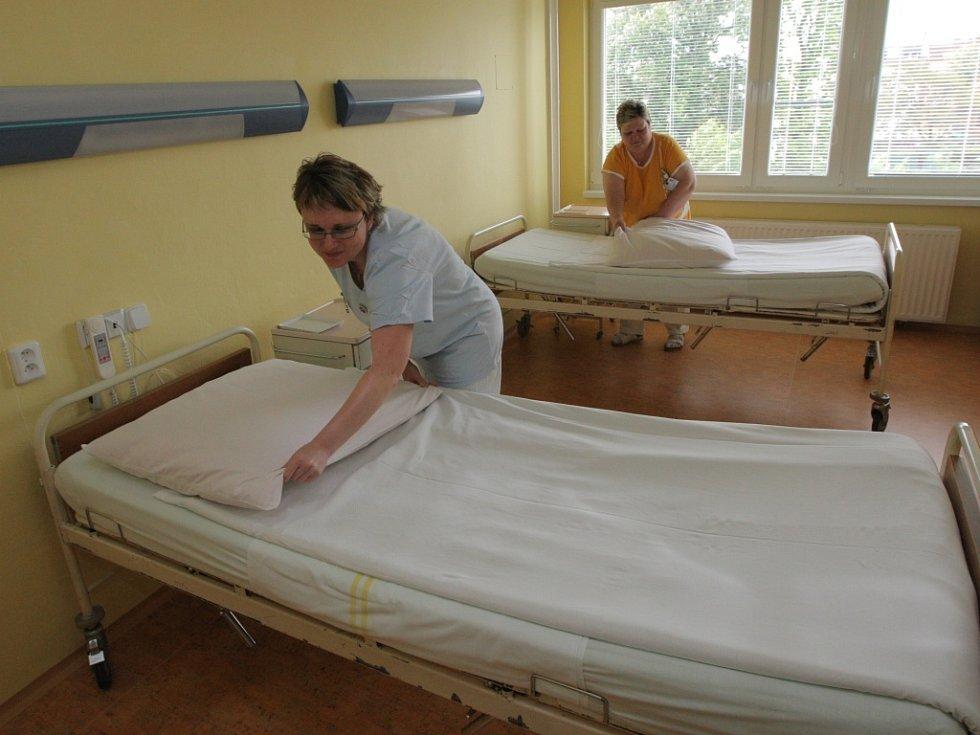 Nově zrekonstruované prostory porodnice Vítkovické nemocnice.