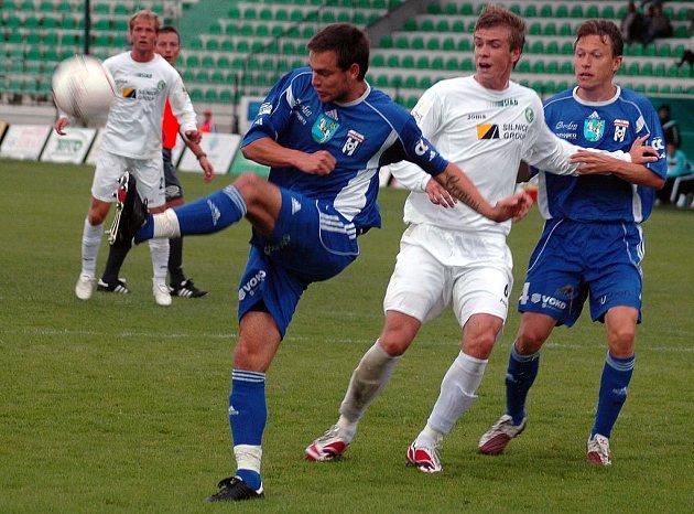 Ze zápasu Vítkovic a Mostu