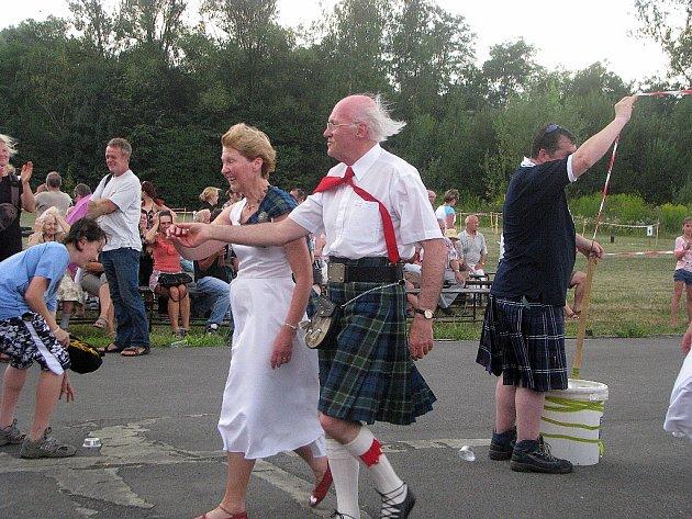 Skotské hry alias Highland Games v Orlové