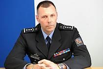 Ředitel  moravskoslezské policie Tomáš Kužel