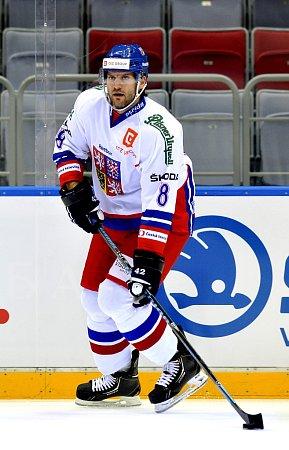 VREPREZENTACI odehrál Michal Barinka už 85zápasů, vSoči přidá další.