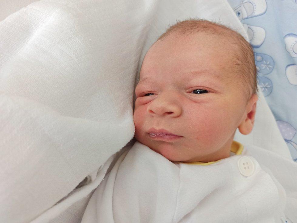 Dominik Burysz, Třinec narozen 19. dubna 2021 míra 50 cm, váha 3730 g. Foto: Gabriela Hýblová