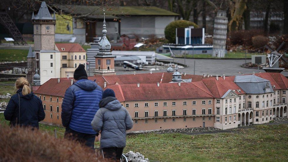 Miniuni na Černé Louce, 9. prosince 2018 v Ostravě.