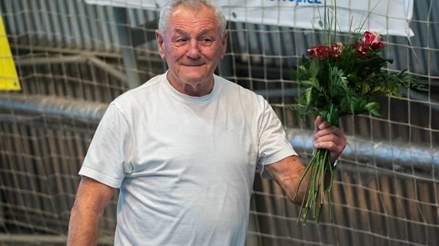 Slavil osmdesátku. Loni v říjnu oslavil Arnošt Raník osmdesát let.
