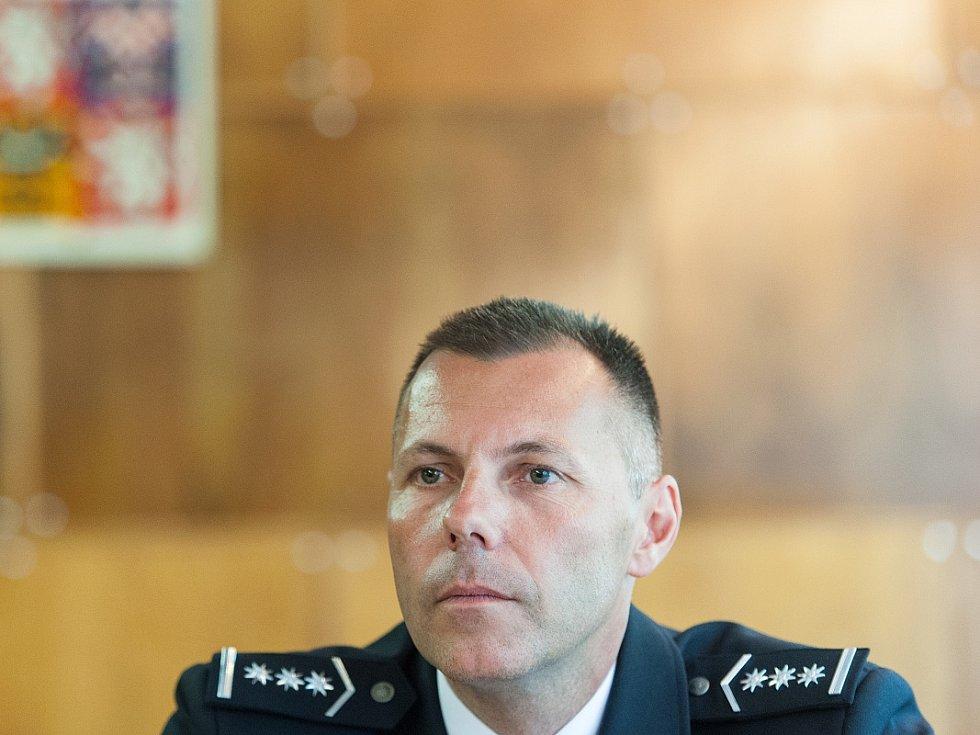Ředitel moravskoslezské policie Tomáš Kužel hodnotí loňský rok jako velmi vydařený.