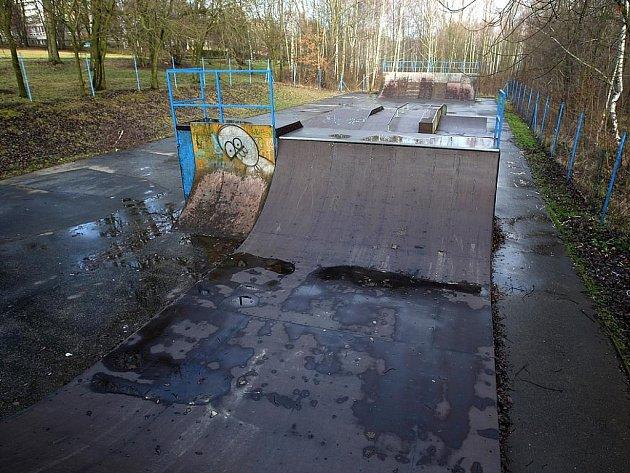 Skatepark ve Výškovicích