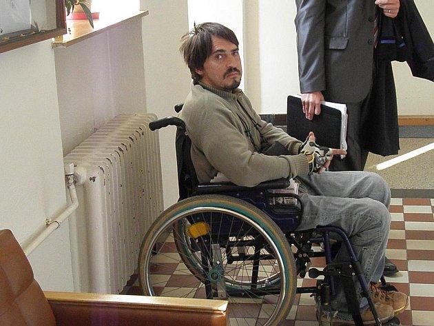 Jaromír Spurný je obžalován z pokusu o otcovraždu.