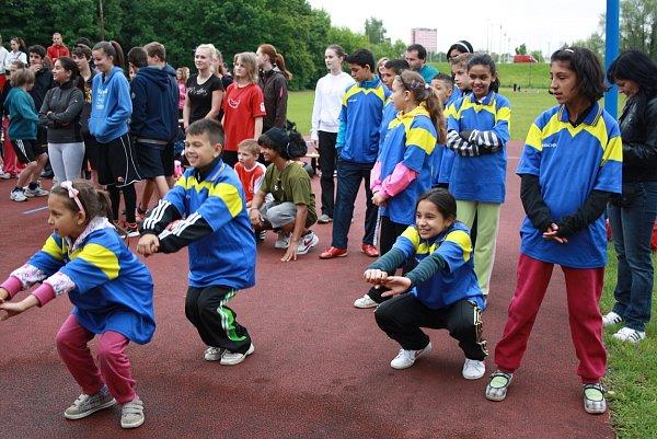 Stadion ZŠ M. Kudeříkové patřil žákům základních škol. Bojovali zde vrámci projektu Odznak všestrannosti olympijských vítězů, a to opostup na krajské a republikové finále.