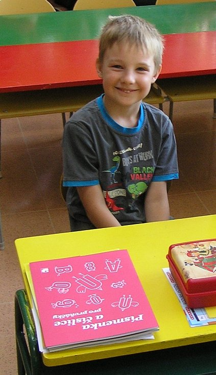 Daniel Hon, 6 let, Vrchy, ZŠ Březová