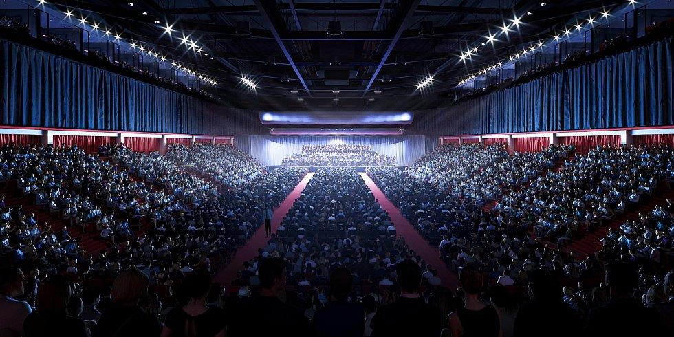 Horácká multifunkční aréna Jihlava.