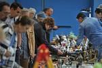 Bleší trh na Černé louce v Ostravě.