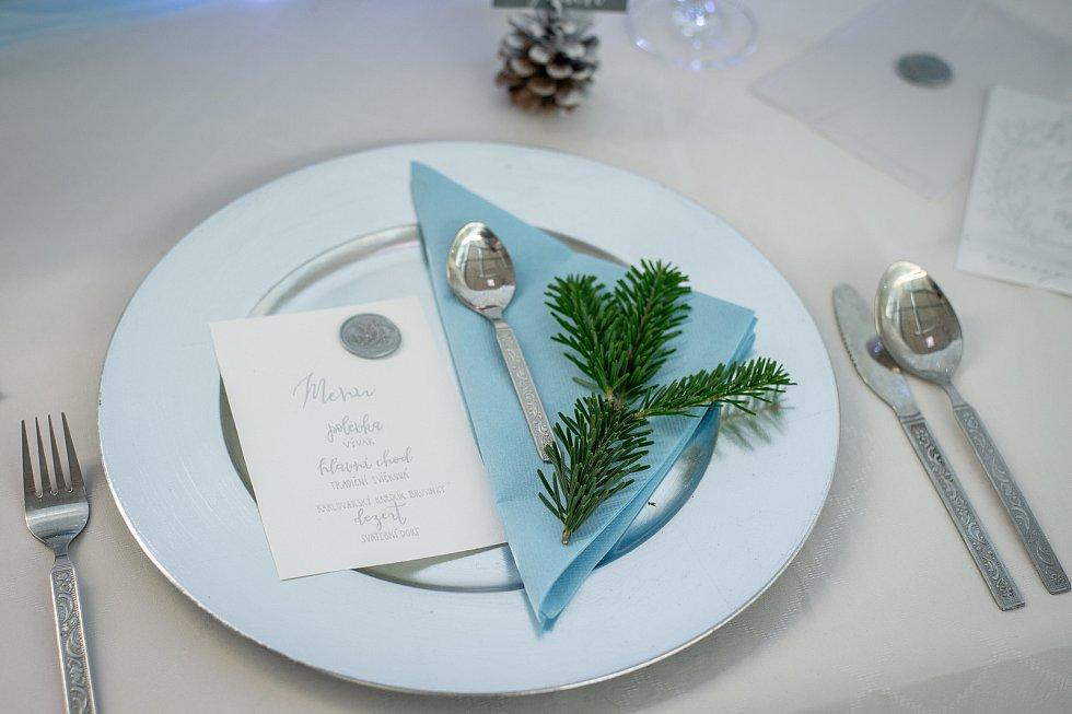Veletrh Svatba na Černé louce, 1. února 2020 v Ostravě. Na snímku svatební agentura Simply Yes.