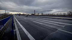 Otevřené mosty na Rudné ulici, 9. prosince 2018 v Ostravě.