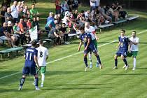 Fotbalový zápas - FK Stará Bělá - TJ Ludgeřovice, 21. srpna 2021.