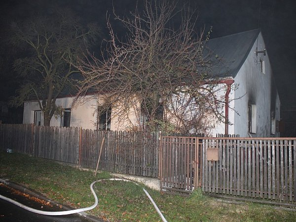 Vtomto domě došlo předloni vlistopadu kvýbuchu a požáru.