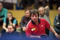 Legendy stolního tenisu dvakrát prohrály, na severu Moravy se ale dobře bavily.