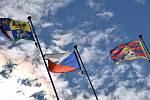 Vlajka pro Tibet zavlaje před hejtmanstvím kraje i letos.