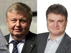 Jan Světlík (na snímku vlevo) končí ve funkci generálního ředitele Vítkovic, nahradí ho Witassek.