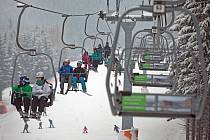 Lyžování Ski Filipovice. Ilustrační foto