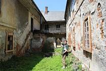Bývalá textilní manufaktura v Šumperku