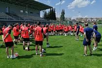 V Mohelnici a okolí se konala Fotbalová akademie Lionsport