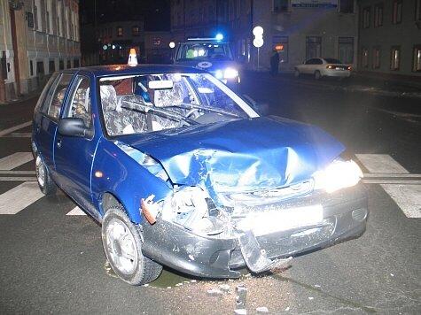 V úterý 3. února se stala na křižovatce ulic Havlíčkova, Temenická a Langrova v Šumperku dopravní nehoda dvou vozidel.