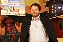 Ceny v hodnotě jedenácti milionů korun přineslo Milanovi Vobořilovi vítězství v soutěži Vyvolení.