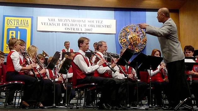 Mezinárodní soutěže dechových orchestrů v Ostravě se zúčastnily soubory z celé České republiky, Polska a také Slovinska.